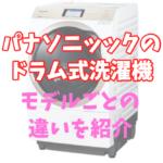 【ドラム式洗濯機のボス】パナソニックのドラム式洗濯機の違いはどこ? 選び方はどうすればいい?